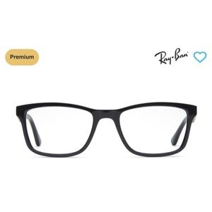 RayBan Black prescription eye glasses-5279
